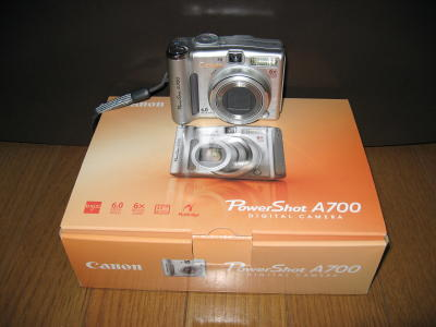 Canon Power Shot A700